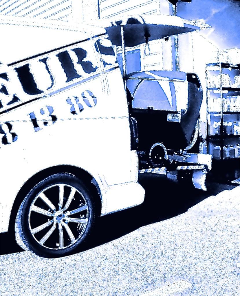 camion autolaveuse
